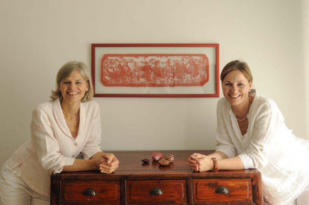Dr. Maren Fiebig-Lohmer und Rosina Roth